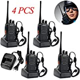 Lospu HY BaoFeng BF-888S Two Way Radio (Pack of 4) - customize 4pack Package