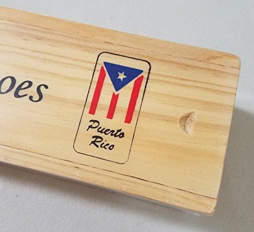 Puerto Rico Flag Logo Dominoes