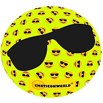EMOTICONWORLD Pelota playa emoticono gafas sol: Amazon.es ...