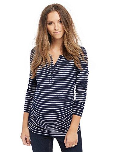 [Motherhood Henley Maternity T Shirt] (Motherhood Maternity T-shirt)