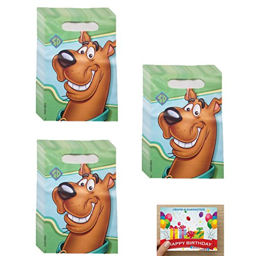 Scooby Doo Birthday Treat Bags for 24 Guests (Bags Treat Scooby Doo)