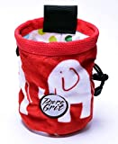 Pure Grit Plush Animals Rock Climbing Chalk Bags (USA Made) with Belt