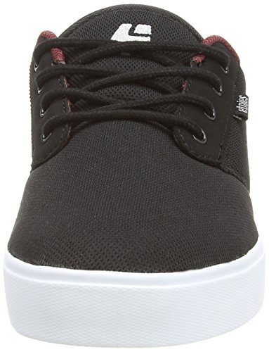 Burgundy Shoe Textile Skateboard Men's Jameson Eco Etnies White 2 Black Y6vzqWZ