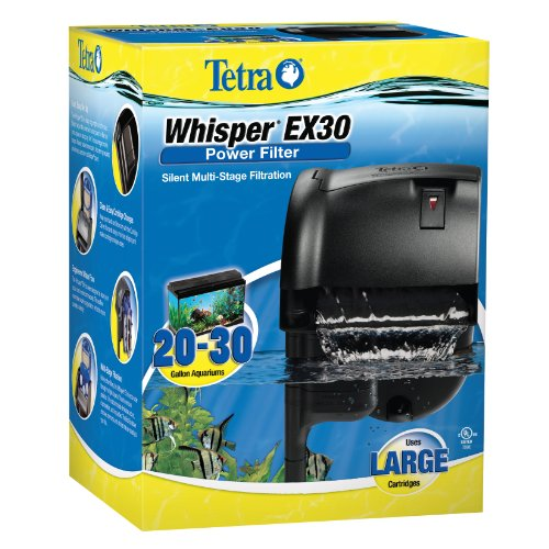 - Tetra Whisper EX Silent Multi-Stage Power Filter for Aquariums