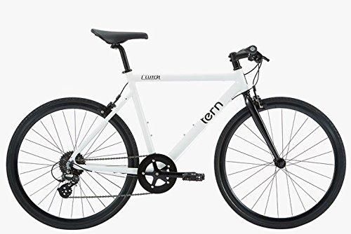 ターン 2016 CLUTCH(クラッチ) アルミクロスバイク B079GR3LTMBLACK 48cm(155-170cm)