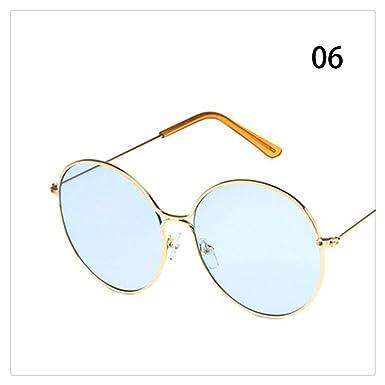 Tian Ran Dai Gafas de sol coloridas con forma de huevo de ...