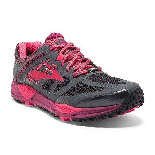fresa de frambuesa para GTX de Cascadia 11 correr mujer Brooks té Zapatillas de antracita Axn4OC4