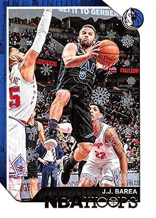 Amazon com: 2018-19 NBA Hoops Holiday #123 J J  Barea Dallas