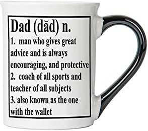 Dad Mug, Dad Coffee Cup, Ceramic Dad Mug, Father's Day Gift By Tumbleweed