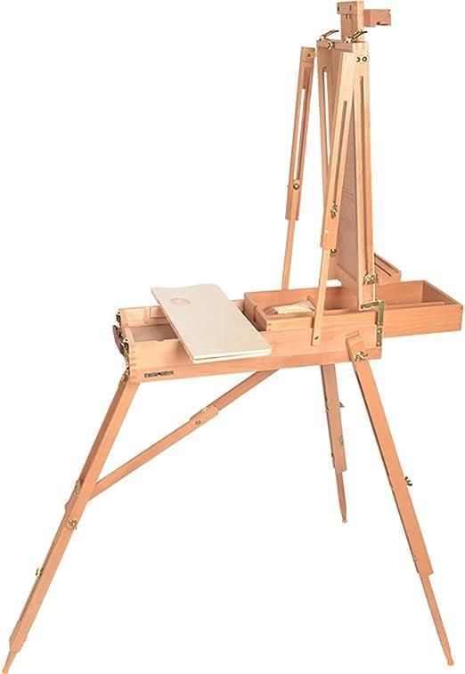 caballete pintura Marco de madera de la pintura Hêtre rojo Caja de ...