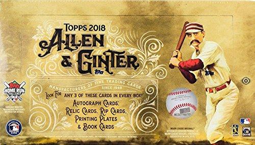 2018 Topps Allen & Ginter MLB Baseball HOBBY box (24 pk) ()