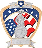 National Guard Shield Award 8 x 8.5''