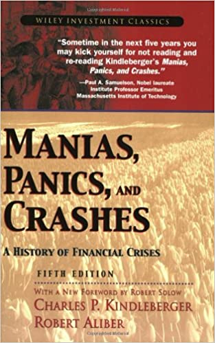 Manias Panics and Crashes: A History of Financial Crises, Charles Kindleberger