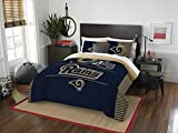 NFL Los Angeles Rams ''Draft'' Full/Queen Bedding Comforter Set