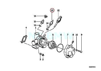 amazon com bmw genuine engine coolant temp sensor automotive E30 Wiring Diagram