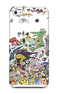 Excellent Iphone 5c Case Tpu Cover Back Skin Protector Pokemon