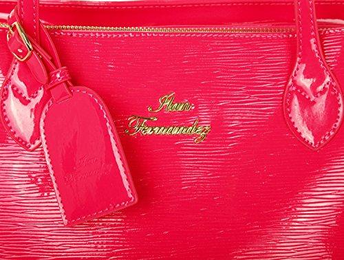 Ilan Fernandez, Borsa tote donna rosa Rose