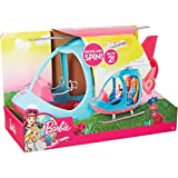 Barbie FWY29 Helicopter, Pink and Blue, with