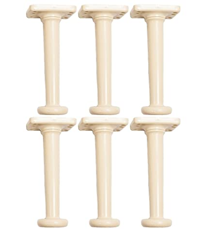 Amazon.com: Adjustable Bed Risers 10 Inch Twin Set of 6: Home