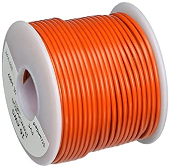 "16 AWG Gauge Stranded Hook Up Wire Red 100 ft 0.0508/"" UL1007 300 Volts"