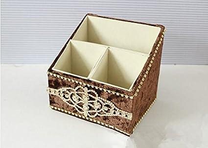 caja de terciopelo de encaje caja de almacenamiento caja de pañuelos mesa de comedor mesa de