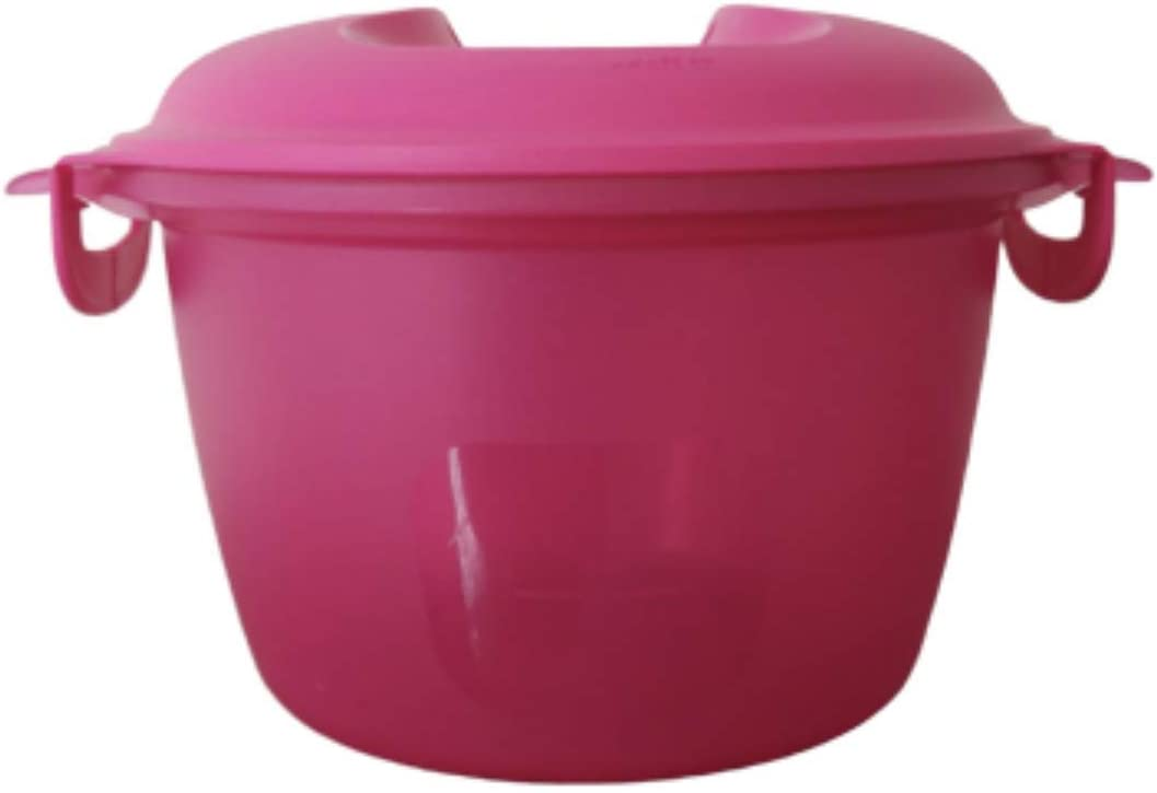 MICROWAVE Rice Maker Cooker Steamer Hot Pink