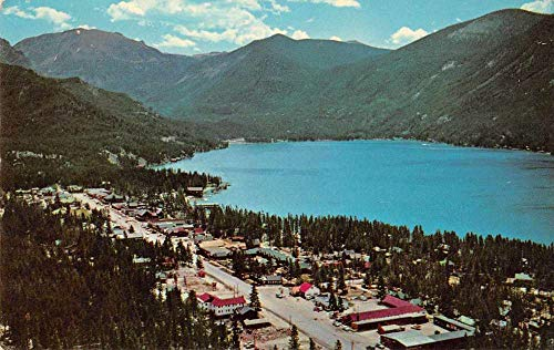 Rocky Mountain National Park Main Street Vintage Postcard JA455498