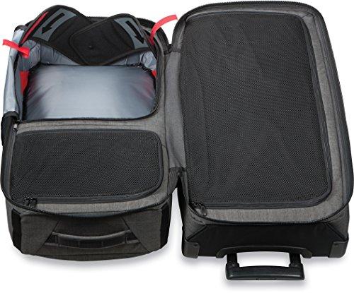 Dakine 10000784  - Unisex Split Roller Luggage Bag - Durable Construction - Split-Wing Collapsible Brace Level - Exterior Quick Access Pockets (Carbon, 85L) by Dakine (Image #5)