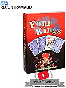 RecontraMago Juegos de Magia con Cartas - Faciles y Muy Divertidos - Incluye VideoTutorial por Magos Profesionales (Mentalismo: Reyes): Amazon.es: Juguetes y juegos