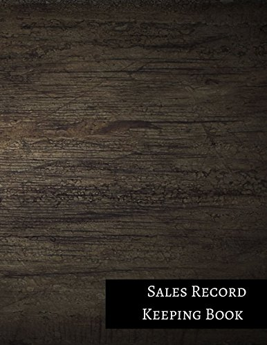 Sales Record Keeping Book
