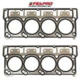 FEL-PRO Head Gaskets for 2003-07 Ford 6.0L 6.0 Powerstroke Diesel Turbo Engines with 18mm head dowels (2 Head Gaskets)