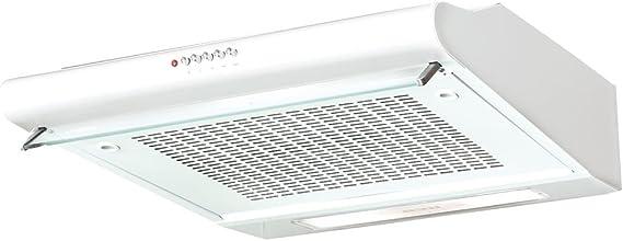Nodor CONFORT Encastrada Blanco 180m³/h - Campana (180 m³/h, Canalizado/Recirculación, 45 dB, Encastrada, Blanco, 40 W): Amazon.es: Grandes electrodomésticos