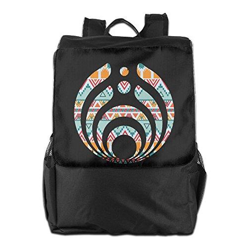 Price comparison product image Amurder Outdoor Rock DJ Bassnectar Logo Travel Backpack Shoulder Rucksack Bag Unisex Black