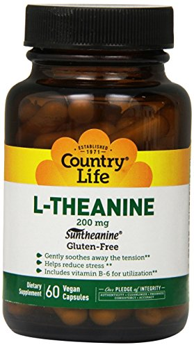Country Life L theanine 200 60 Count
