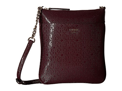 GUESS Women s Marian Petite Crossbody Top Zip Bordeaux Crossbody Bag - Buy  Online in UAE.  d81fe364fac29