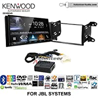 Volunteer Audio Kenwood DDX9904S Double Din Radio Install Kit with Apple CarPlay Android Auto Bluetooth Fits 2011-2013 Toyota Matrix with Amplified System