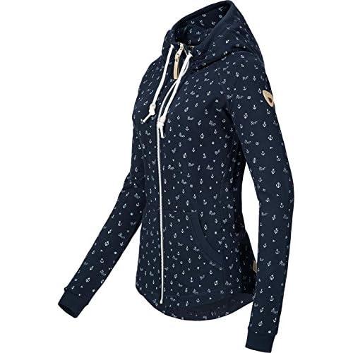 Small Abrigo Service Durable Azul Para Mujer Ragwear Marino wfXzcq