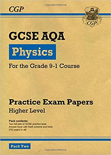 Book New Grade 9-1 GCSE Physics AQA Practice Papers: Higher Pack 2