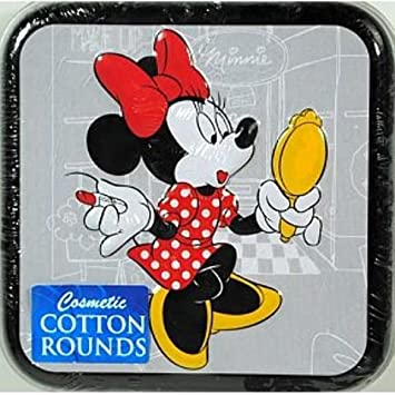 Cotton Buds Disney Cotton Rounds Tin (case of 36) by Cotton Buds