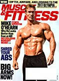 img - for MUSCLE & FITNESS Magazine April 2017 MIKE O'HEARN, Dorian Yates, Dominic Purcell book / textbook / text book