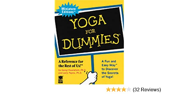 Yoga for Dummies: Miniature edition by Georg Ph.d ...