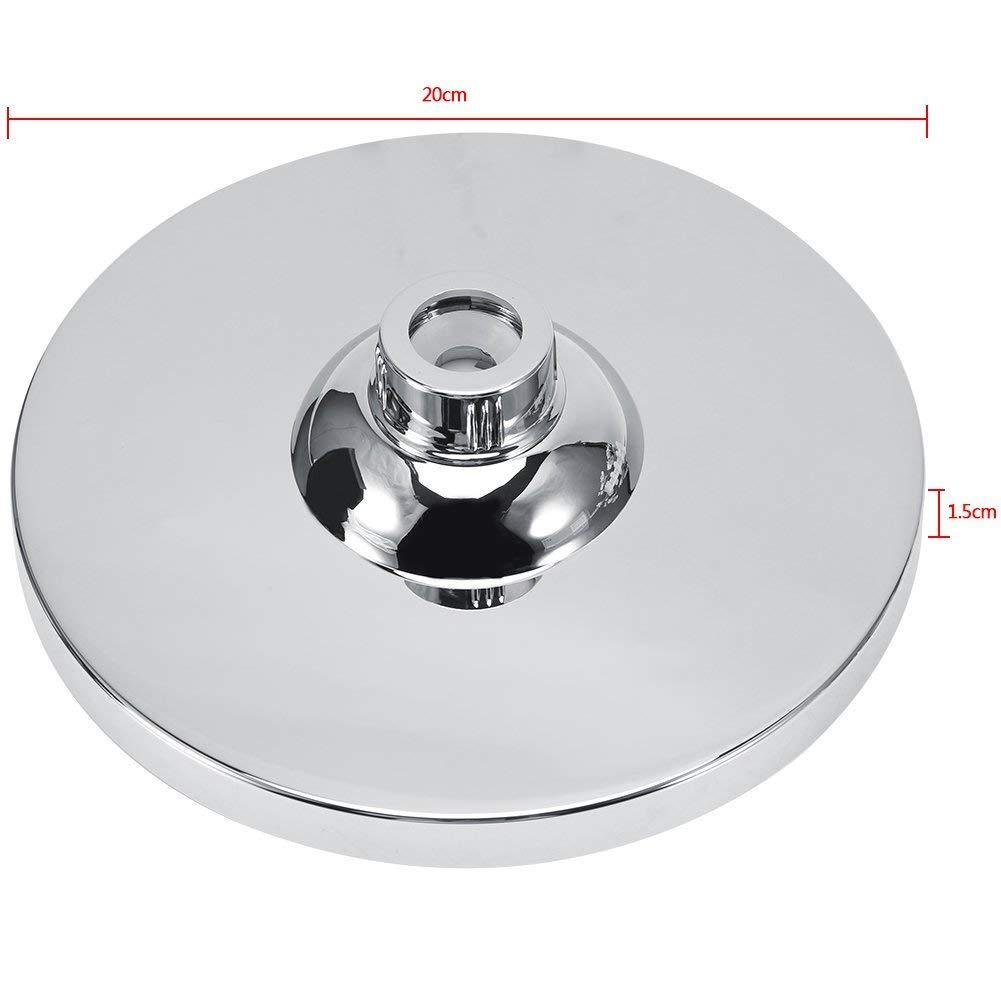 Duschkopf 8/Zoll rund douchett LED beleuchtet Temperatursensor Kopf Dusche mit Farbwechsel 20/* 1,5