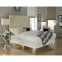 Embrace Bed Frame - California King - White