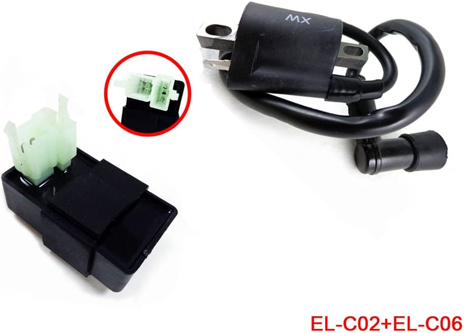 6 pin AC CDI Box for 150cc 200cc 250cc 300cc dirt bike ATV go-kart scooter