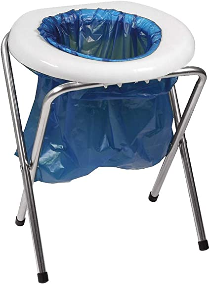 Amazon Com Portable Camp Toilet Camping Commode Camping Sanitation Supplies Sports Outdoors