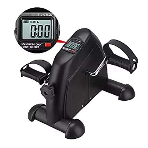Pedal portátil Plegable para Ejercicios, Mini Bicicleta estática ...