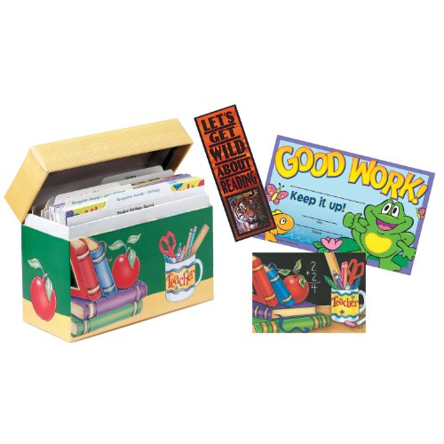 - Eureka Back to School Teacher Reward Kit with Labelled Tabs, 9'' x 6'' x 3 1/8'', 1430 pc.