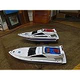 "RC Racing Boat ""Atlantic"" - 40Km/Hour Top Speed, Professional 380 Class Dual Motor"