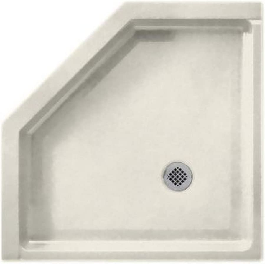 Swanstone Ss 38neo 121 Solid Surface Neo Angle Shower Base 38 L X 38 H X 5 5 H Glacier