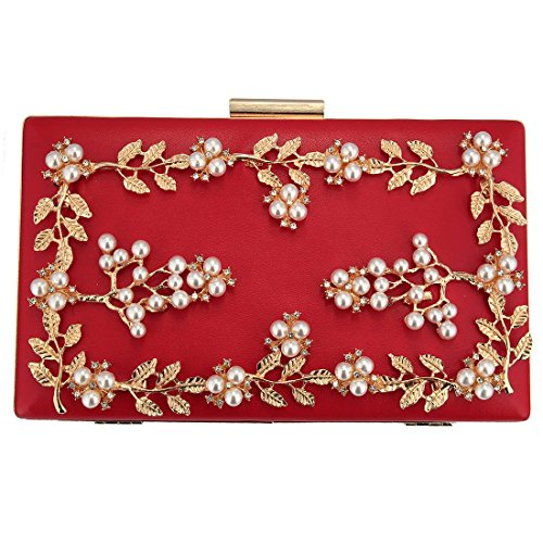 OuYee Rouge OuYee pour Pochette pour femme Rouge femme OuYee Pochette fBHACx
